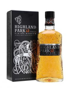 bottiglia highland parck single malt