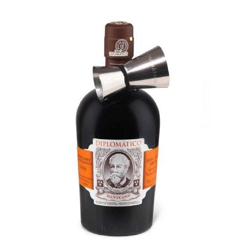 bottiglia rum mantuano jigger