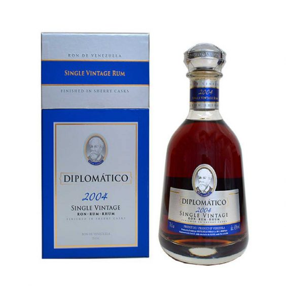 bottiglia diplomatico rum single vintage