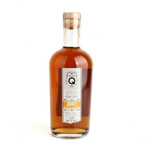 bottiglia di don q single barrel