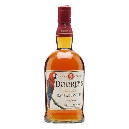 bottiglia rum doorly's 5y