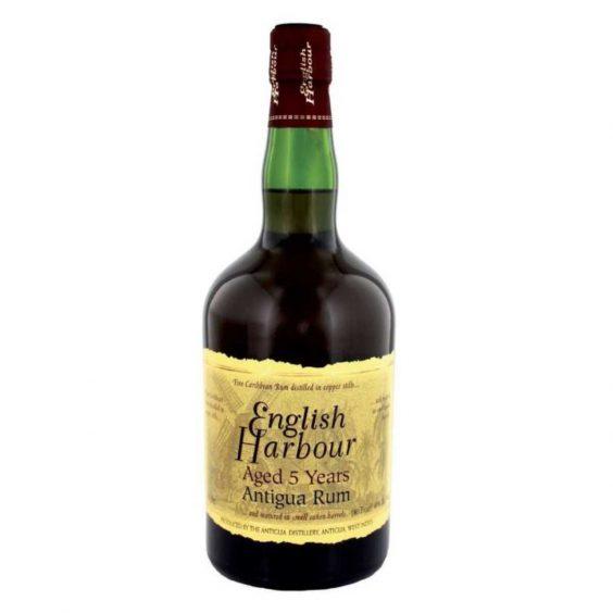 bottiglia rum english harbour 5 y