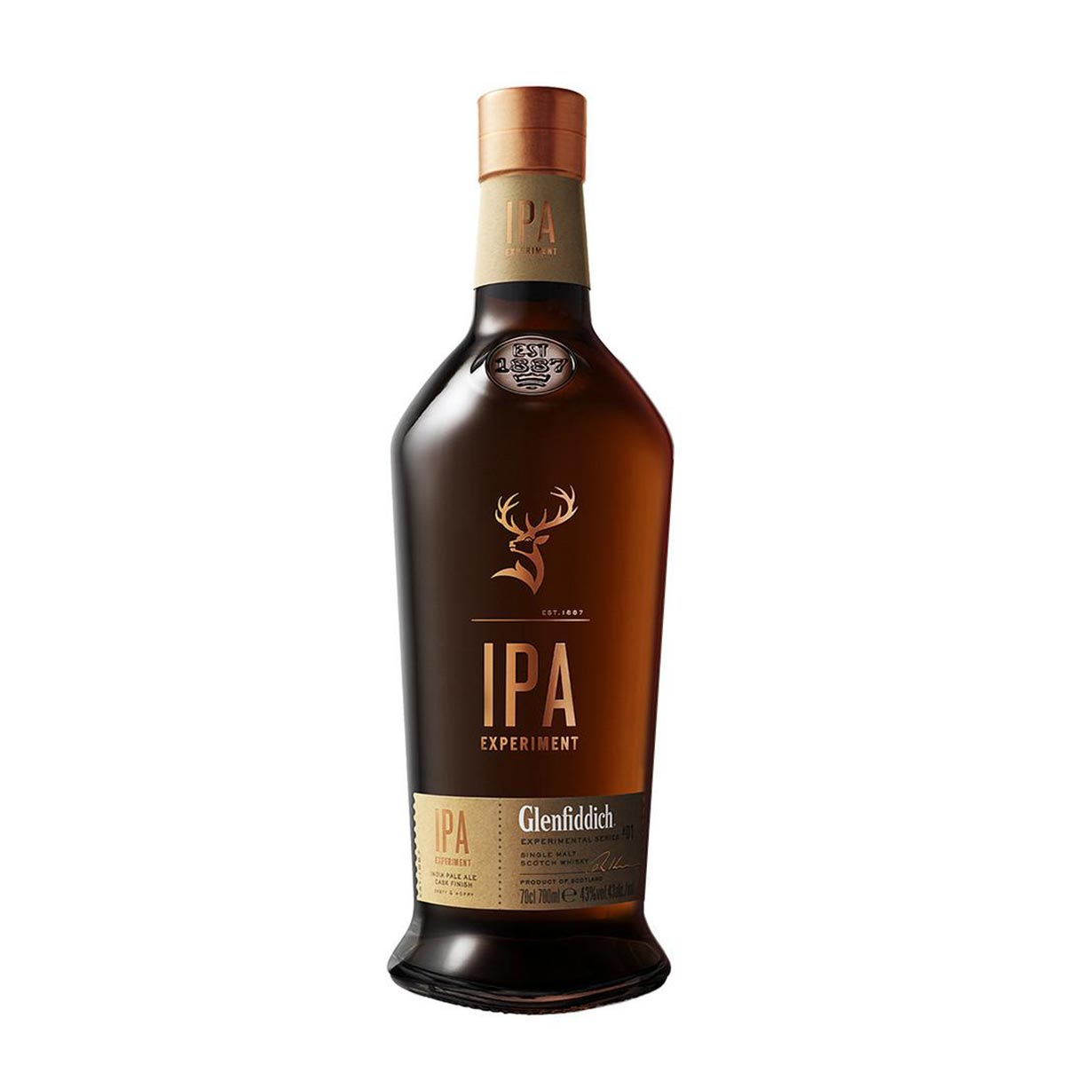 bottiglia glenfiddich single malt
