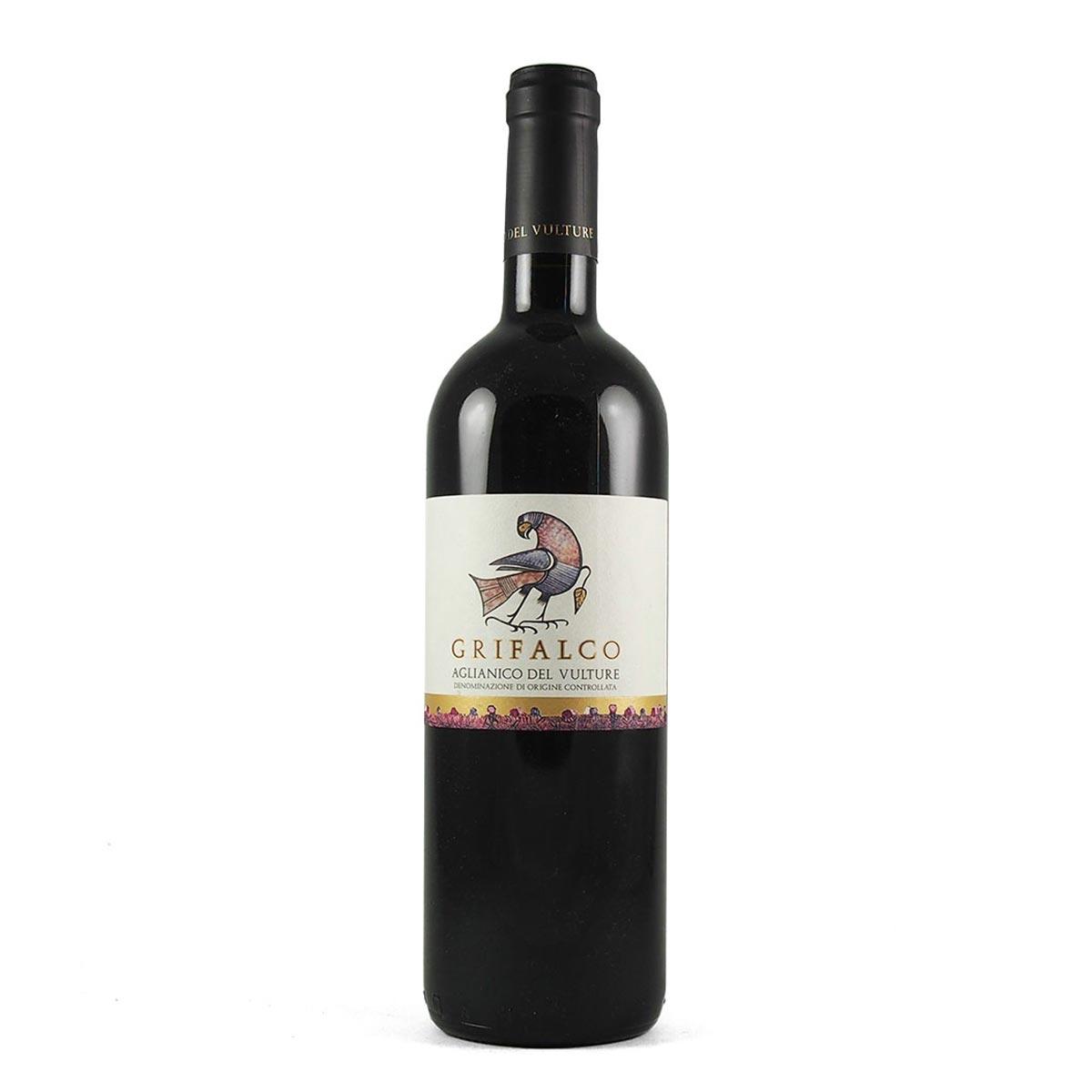bottiglia grifalco aglianico del vulture