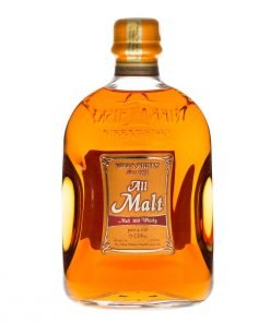bottiglia nikka whisky all malt