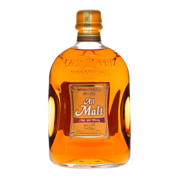 bottiglia nikka whisky all malt