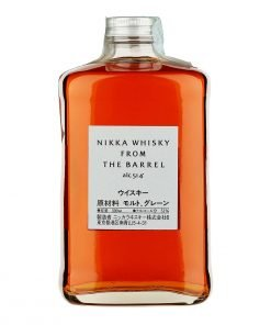 bottiglia nikka whiskey from the barrel
