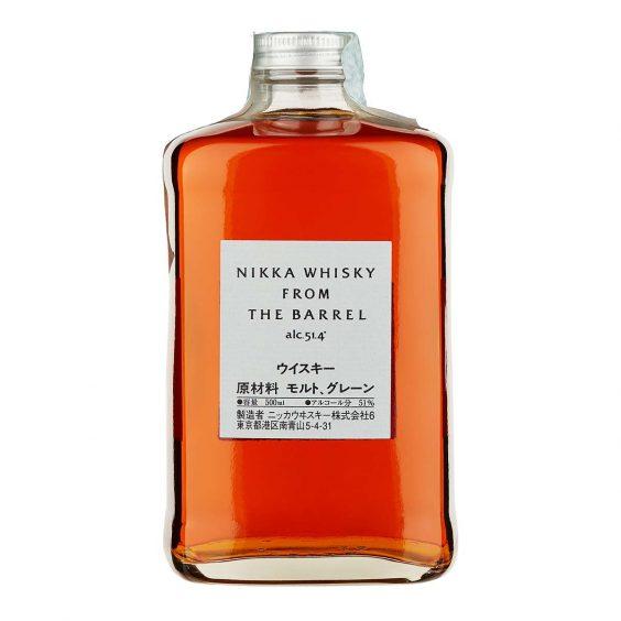 bottiglia nikka whiskey from the barrel