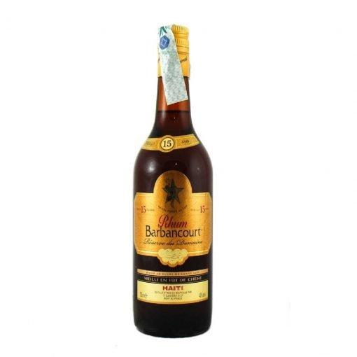 bottiglia barbancourt 15 y