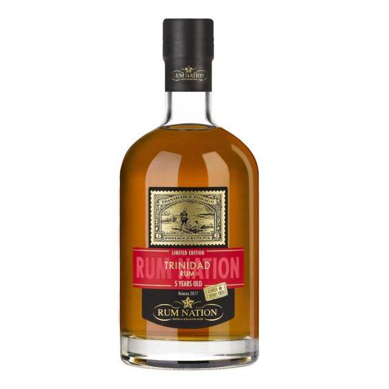 bottiglia rum nation trinidad 5 y