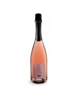 bottiglia virgola rose