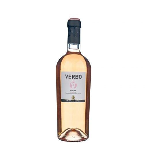 bottiglia verbo rosato