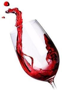 immagine bicchiere di vino