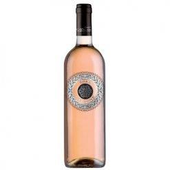 bottiglia rosa carbone