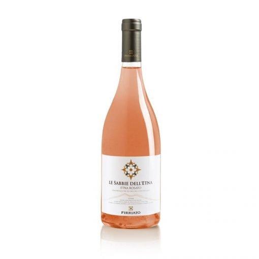 bottiglia sabbie dell'etna rosato