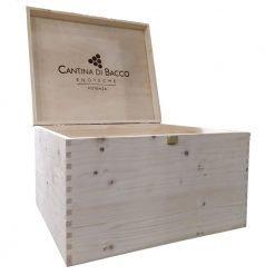 Scatola legno Cantina di Bacco